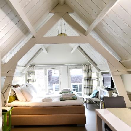 Vergaderkamer muziekkamer huiskamer De Luthiers Bed & Breakfast Voorstraat 13 Dordrecht