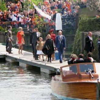 Koningsdag Dordrecht 2015 Maxima en Willem Alexander