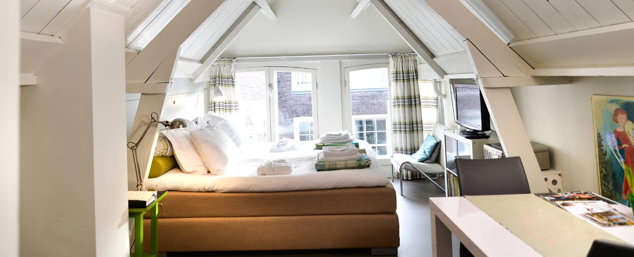 kamer 2 midzomernachtdroom Bed en breakfast De luthiers Dordrecht